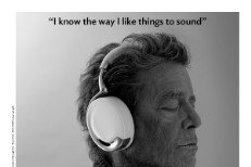 Watch Lou Reed's Parrot Zik Headphones Commercial
