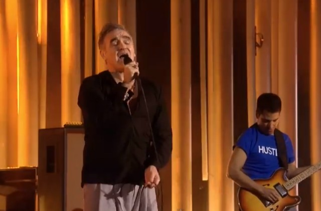 Morrissey at Nobel Peace Prize Concert
