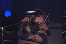 Watch R. Kelly Play A Woman Like A Violin, Get Covered By Benedict Cumberbatch On <em>Kimmel</em>
