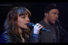 Chvrches on Letterman