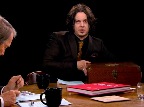 Watch Jack White On <em>Charlie Rose</em>
