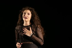 Lorde In Auckland 1/29/14