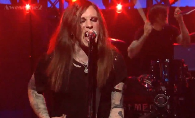 Against Me! on Letterman