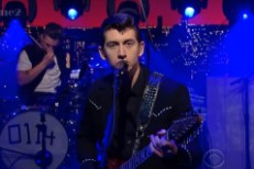 Arctic Monkeys on Letterman