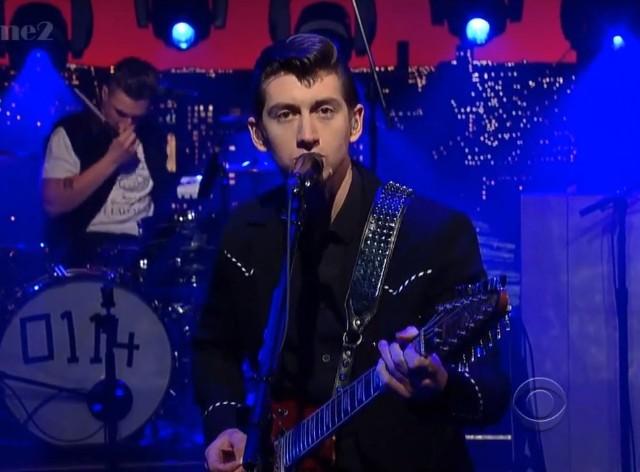 Arctic Monkeys on Letterman