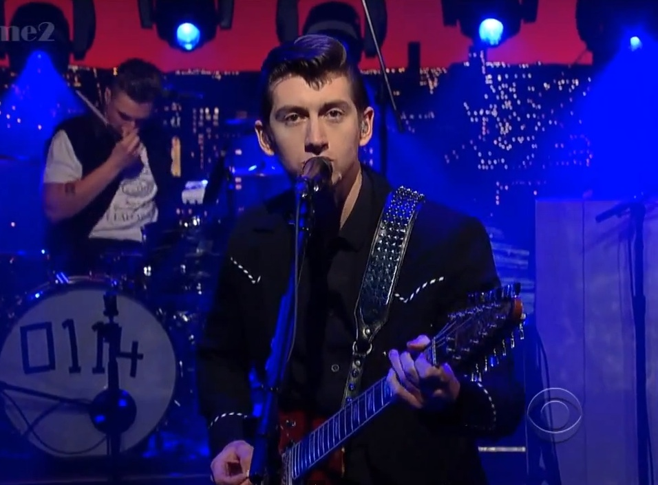 Watch Arctic Monkeys Play &#8220;Do I Wanna Know?&#8221; On <em>Letterman</em>