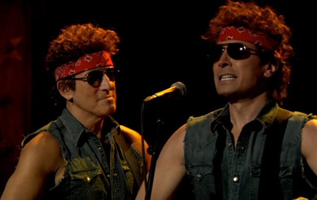 Bruce Springsteen & Jimmy Fallon