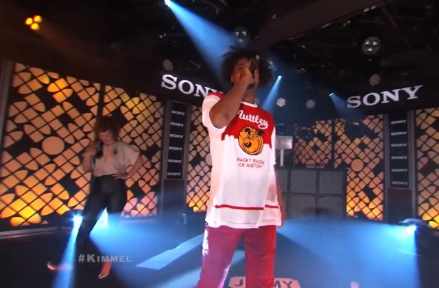 Danny Brown on Kimmel