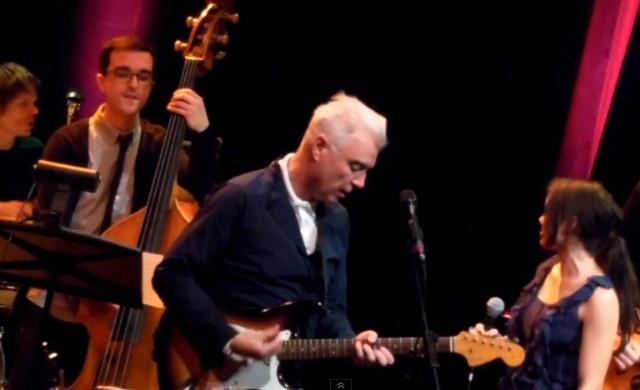David Byrne at Jherek Bischoff Composed