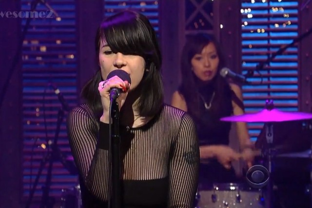 Dum Dum Girls on Letterman