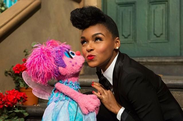 Janelle Monae Sesame Street