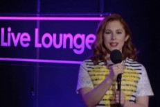 Katy B in BBC Live Lounge