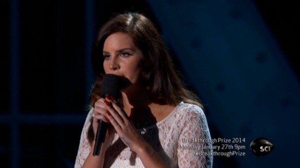 Lana Del Rey at the Breakthrough Prize