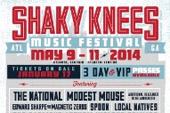 Shaky Knees Festival 2014 Lineup