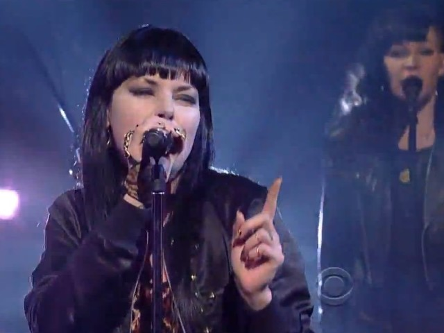 Sleigh Bells on Letterman