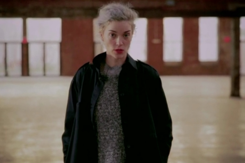 Watch St. Vincent Demonstrate A Cool Soccer Move