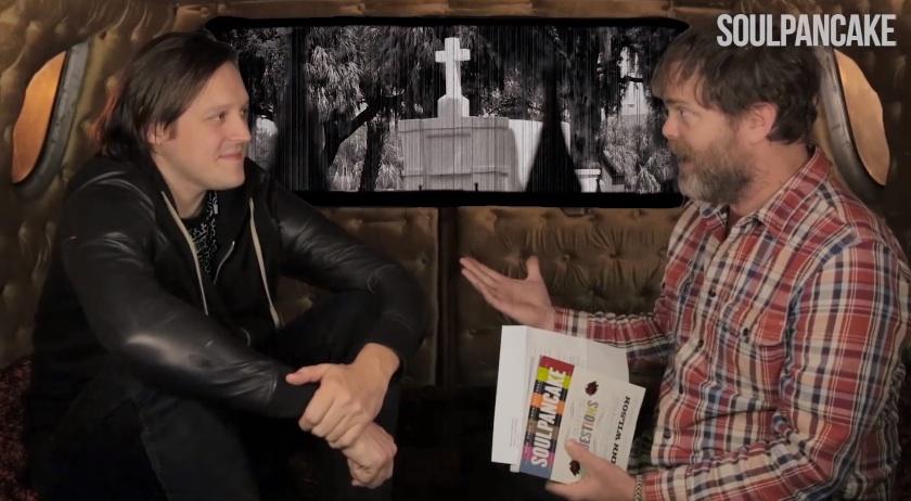 Watch Rainn Wilson Interview Win Butler
