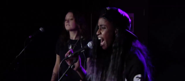 "Watch Angel Haze Covers Beyoncé's ""Drunk In Love"""