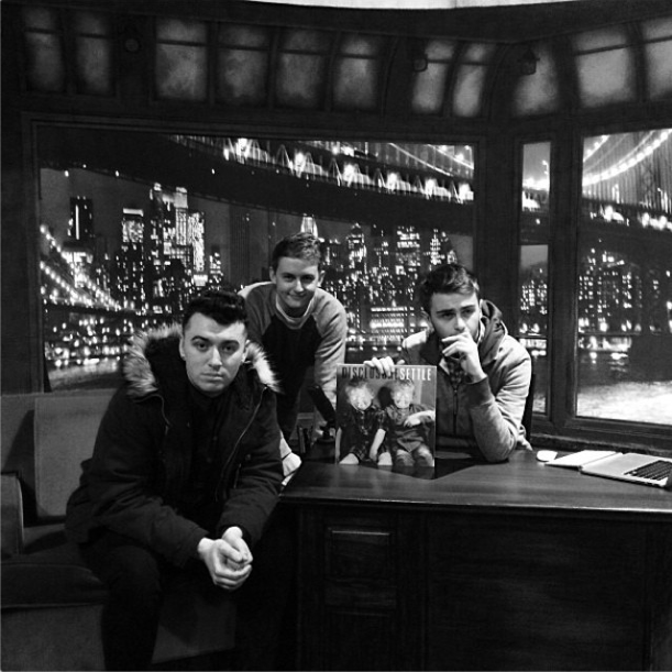 Disclosure & Sam Smith On Fallon