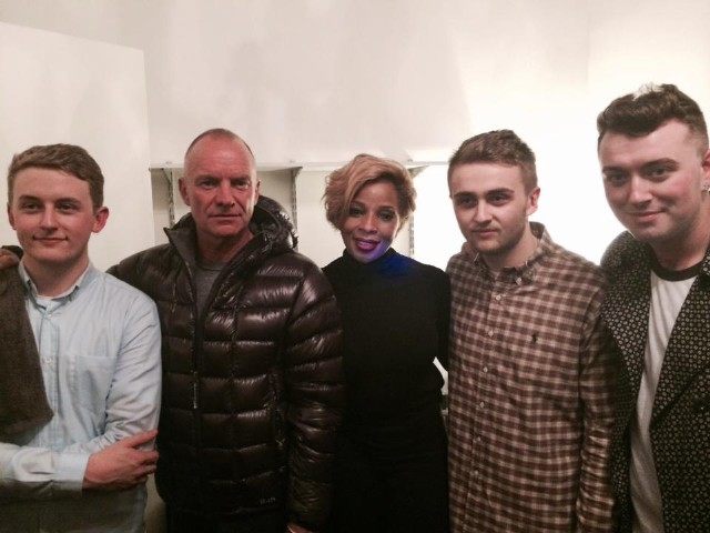 Disclosure, Sting, Mary J. Blige In NYC 1/19/14