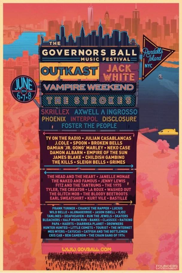 governors ball 2014 lineup