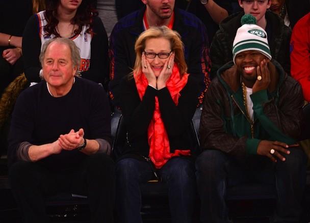 50 cent uit Meryl Streep