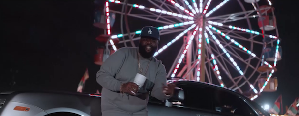 "Rick Ross - ""Bound 2 (Freestyle)"" Video"