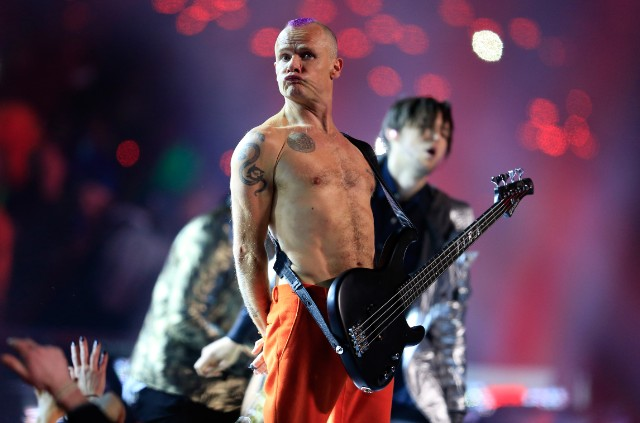 Red Hot Chili Peppers @ Super Bowl 2014
