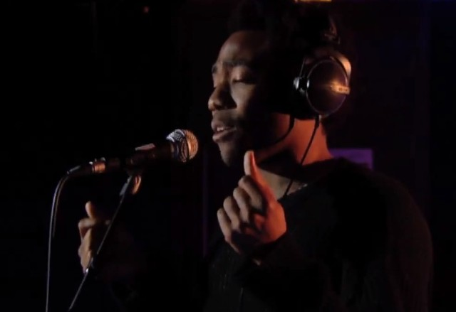 Childish Gambino on BBC Live Lounge