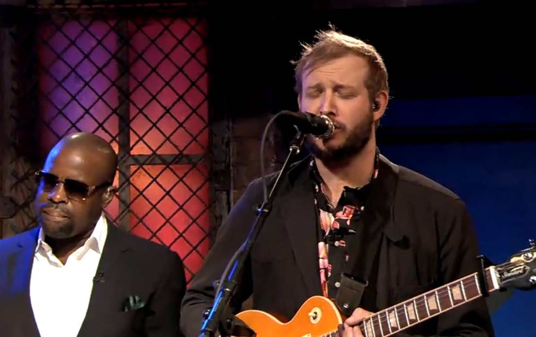 Watch Justin Vernon Sit In With The Roots On <em>Fallon</em>