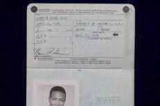 Marvin Gaye passport