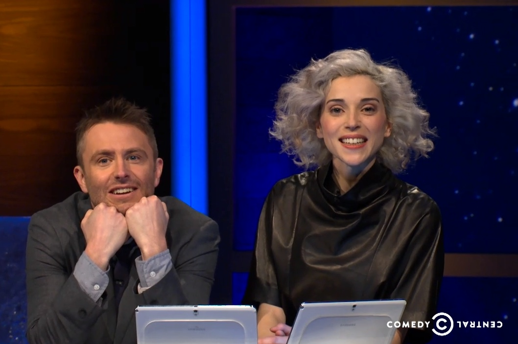 Watch St. Vincent On <em>@Midnight</em>