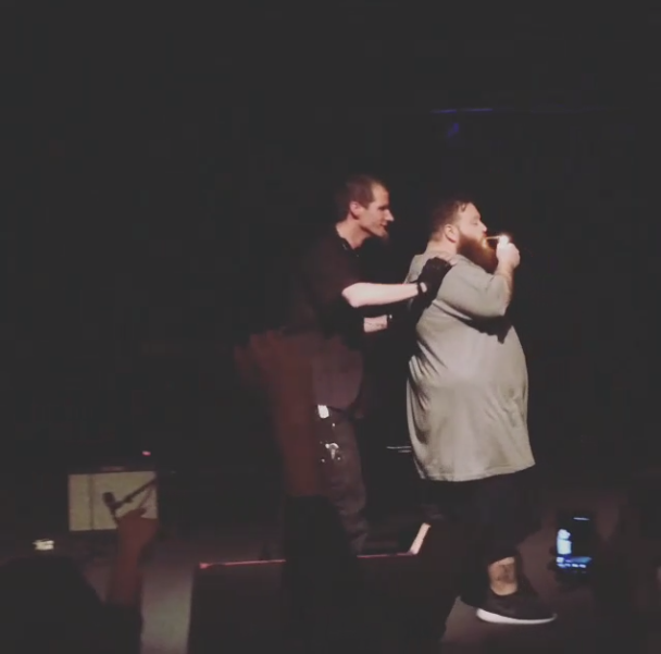Action Bronson Fights With Security @ Roseland Theater In Portland