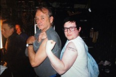 Watch Eagulls Play <em>Letterman</em> And Show Guest Bill Murray Their Bassist&#8217;s &#8220;Eagulls Bill Murray&#8221; Tattoo