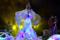 "The Flaming Lips & Sean Lennon Cover ""Lucy In The Sky With Diamonds"" On Letterman"
