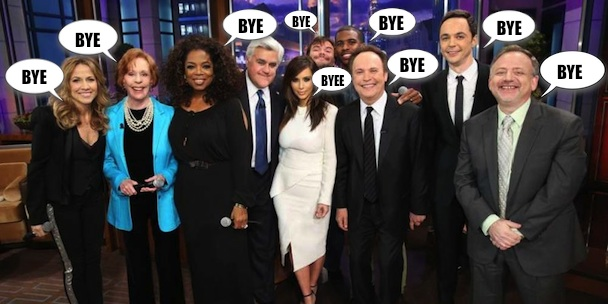 <em>The Tonight Show With Jay Leno</em> Series Finale Open Thread