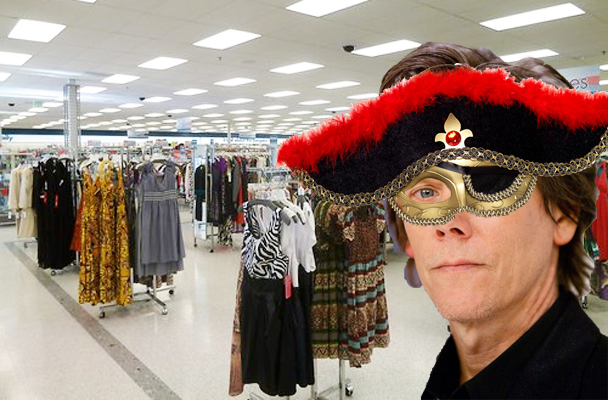 You Can Make It Up: Kevin Bacon Wears A Mask To The Store