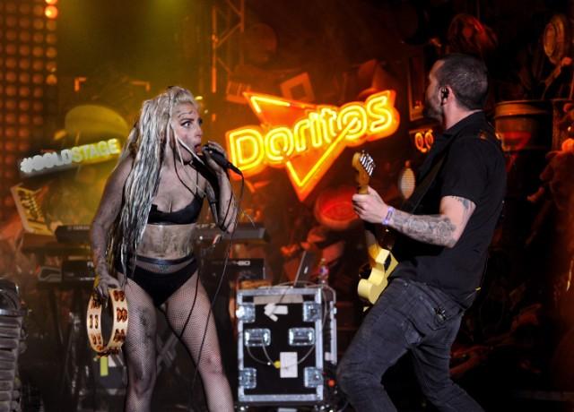 Lady Gaga Performs On The Doritos #BoldStage At SXSW '14