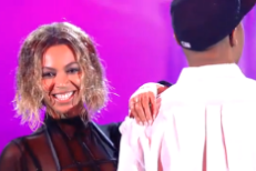 Watch Blue Ivy Totally Ruin Beyoncé's Grammy Rehearsal