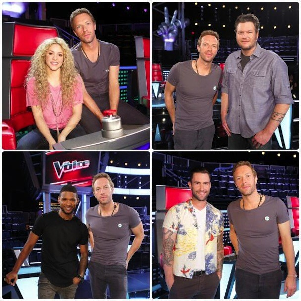 Chris Martin on The Voice
