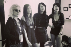 Watch Dum Dum Girls Cover Blondie With Debbie Harry At SXSW