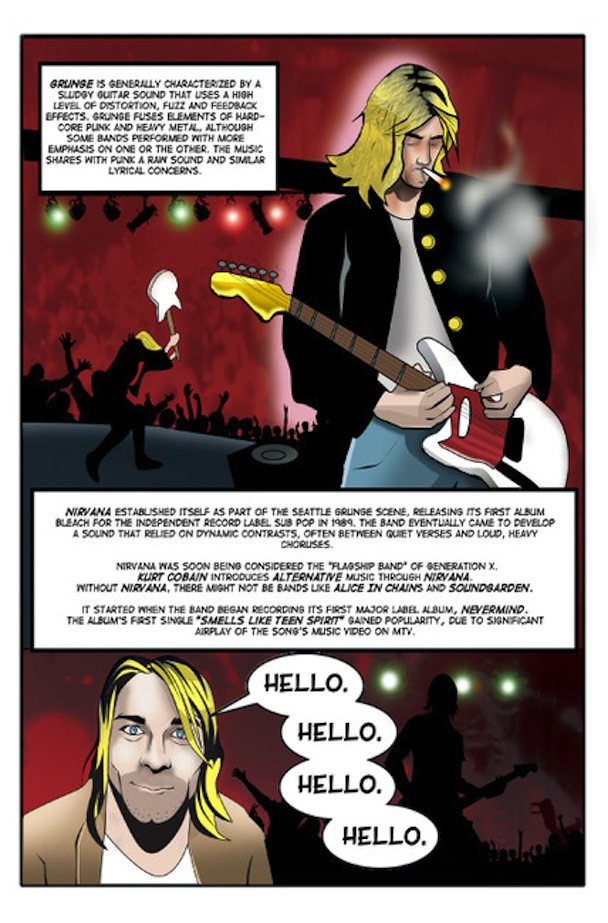 Kurt Cobain graphic novel 3