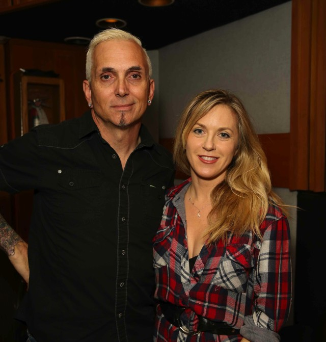 Liz Phair and Art Alexakis