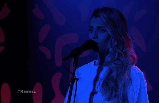 London Grammar on Kimmel