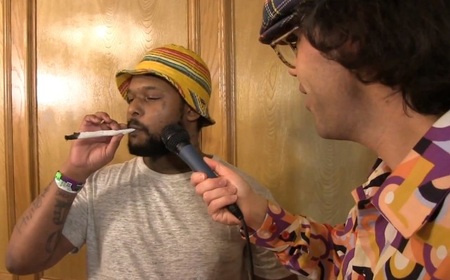 Nardwuar and Schoolboy Q