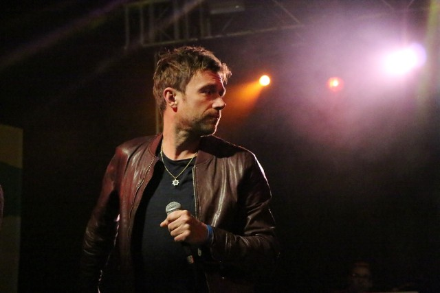 Damon Albarn at NPR SXSW Showcase at Stubbs
