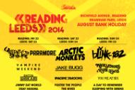 Reading & Leeds Lineup 2014