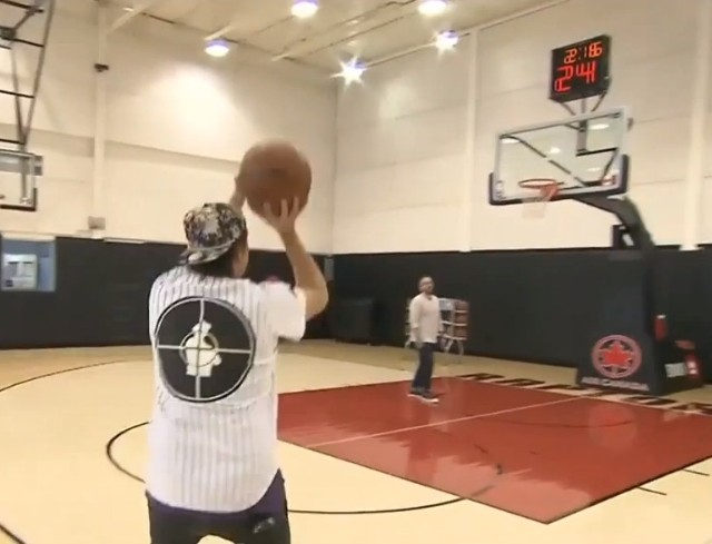 Win Butler three-point shootout