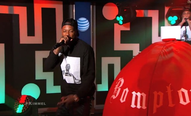 YG on Kimmel