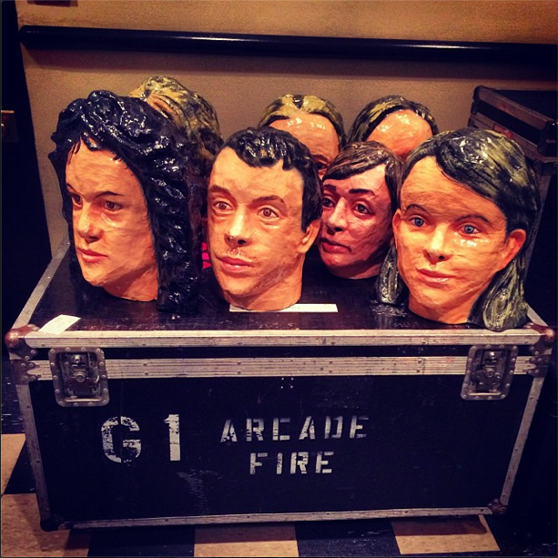 Arcade Fire Seek Bobblehead Stolen In Bridgeport